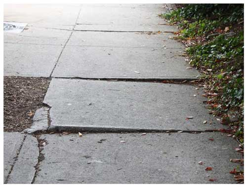 Steven Winig is highly experienced 								in sidewalk fall cases